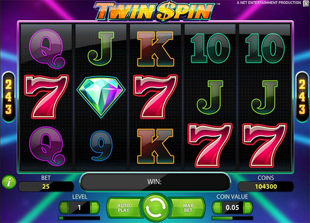Twin Spin bij Kroon Casino