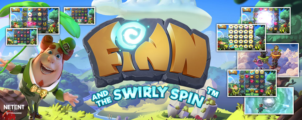 Finn and the Swirly Spin slot Kroon Casino