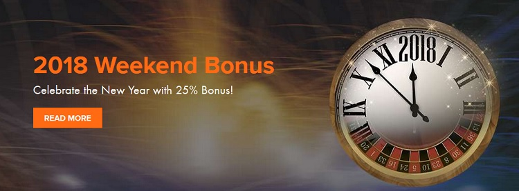 2018 weekendbonus Kroon Casino