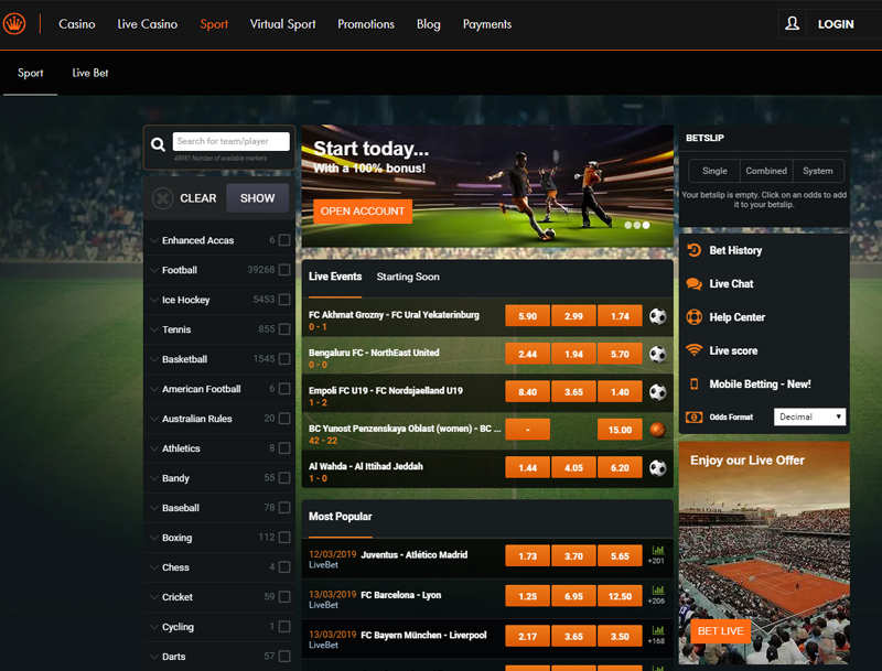Kroon Casino Sportsbetting